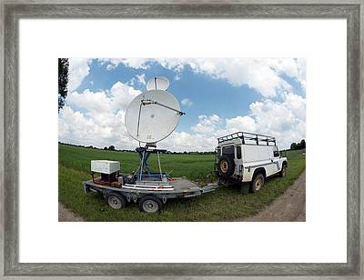 Insect Radar Research Framed Print by Louise Murray