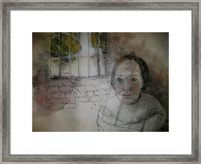 Inside Mental Illness Album Framed Print by Debbi Saccomanno Chan