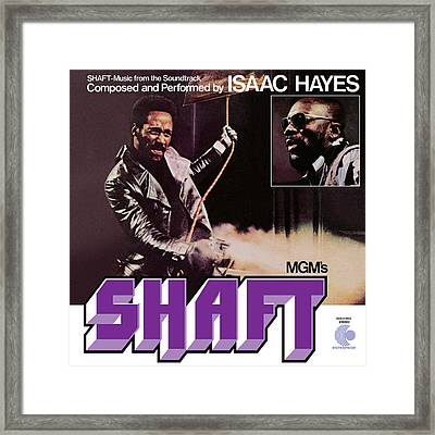 Isaac Hayes -  Shaft Framed Print by Concord Music Group