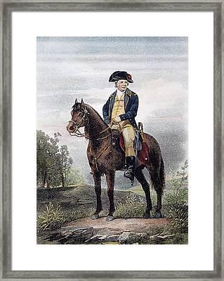 Israel Putnam (1718-1790) Framed Print by Granger