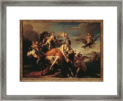 Italy, Lazio, Rome, Private Collection Framed Print