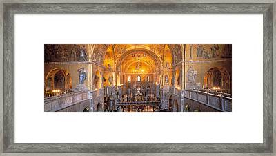 Italy, Venice, San Marcos Cathedral Framed Print