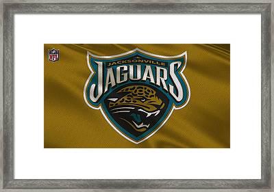 Jacksonville Jaguars Uniform Framed Print