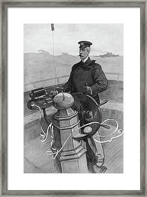 James Gordon Bennett, Jr Framed Print by Granger