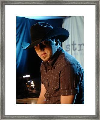 Jason Aldean Framed Print