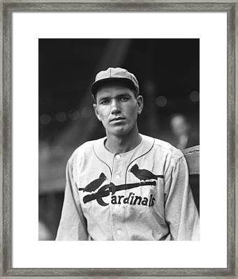 Jay H. Dizzy Dean Framed Print by Retro Images Archive