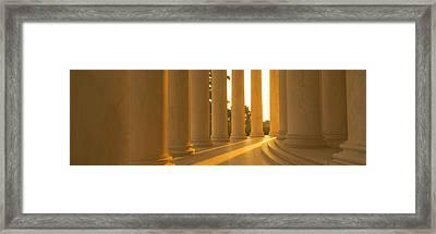 Jefferson Memorial, Washington Dc Framed Print