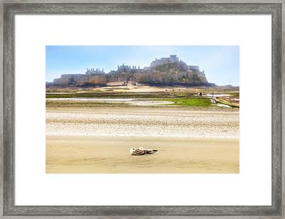 Jersey - Elizabeth Castle Framed Print by Joana Kruse