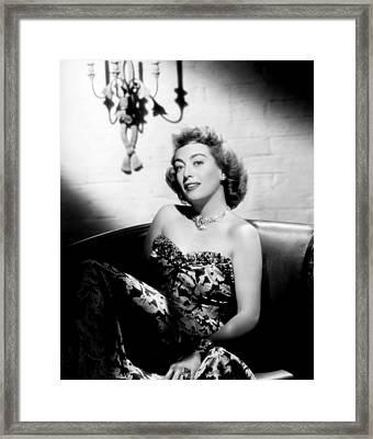 Joan Crawford, Ca. 1947 Framed Print