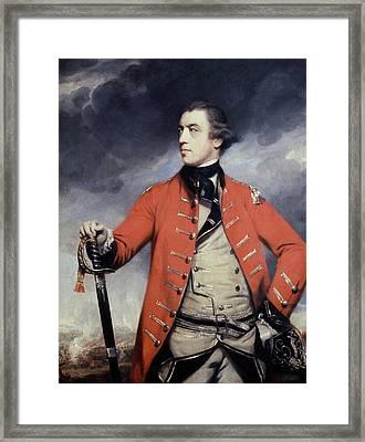 John Burgoyne (1722-1792) Framed Print