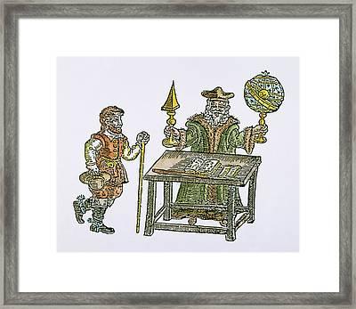 John Dee (1527-1608) Framed Print