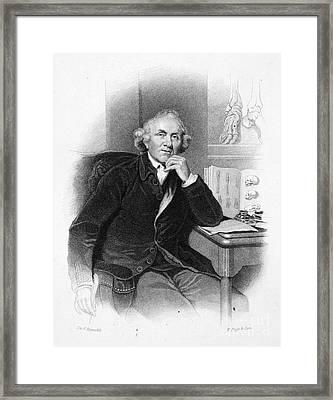 John Hunter (1728-1793) Framed Print by Granger