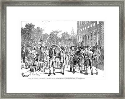John Nixon, 1776 Framed Print by Granger