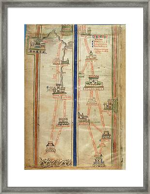 Journey To Jerusalem Framed Print