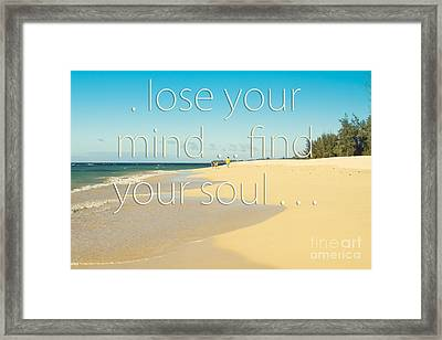 Kanaha Beach Maui Hawaii Framed Print by Sharon Mau