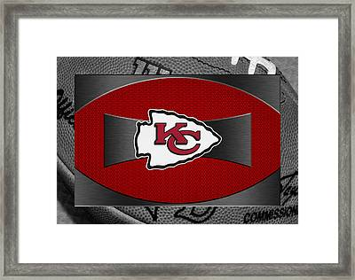 Kansas City Chiefs Framed Print by Joe Hamilton