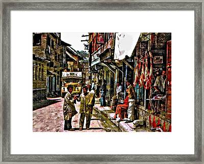 Kathmandu  Framed Print by Steve Harrington