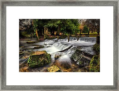 Kearsney Abbey Framed Print by Ian Hufton