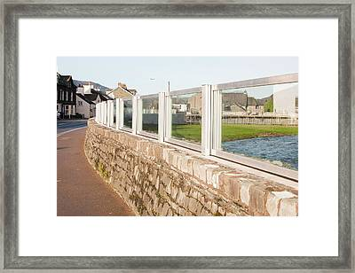 Keswick Flood Defences Framed Print