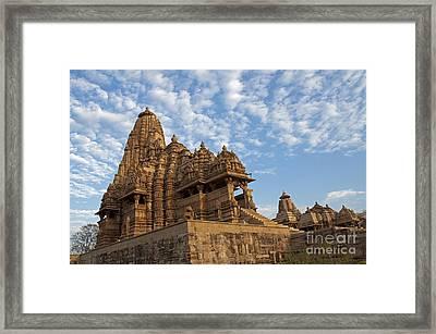 Khajuraho India Framed Print by Rudra Narayan  Mitra