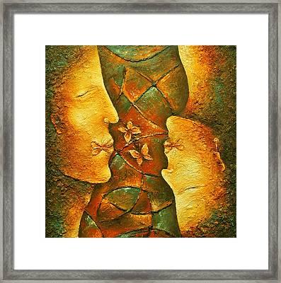 Kiss Framed Print