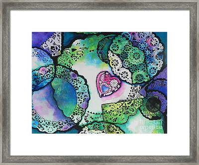 Laced Memories Framed Print by Chrisann Ellis