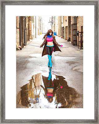 Lady Gambit  Framed Print by Andreas Schneider