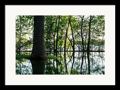 Flooding Photographs Framed Prints