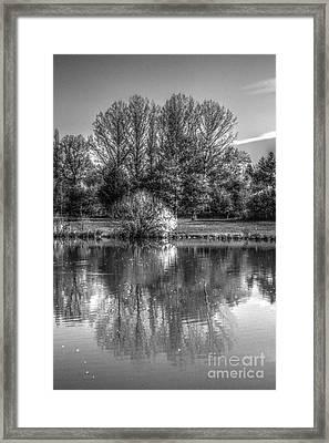 Lake Reflections Framed Print