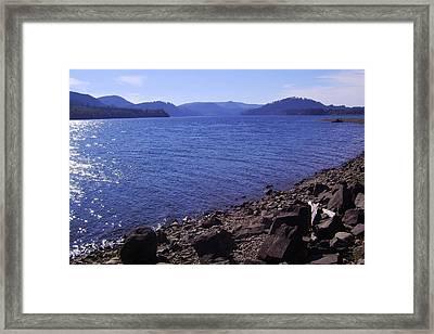Lakes 2 Framed Print
