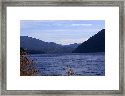 Lakes 5 Framed Print