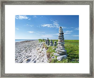 Landscape On The Island Of South Uist Framed Print