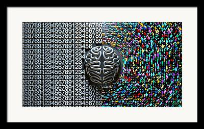 Analytical Thought Framed Prints