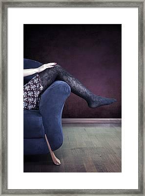 Legs Framed Print