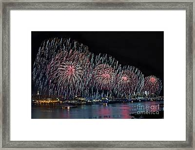 Let Freedom Ring Framed Print by Susan Candelario