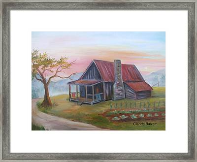 Life In The Country Framed Print by Glenda Barrett