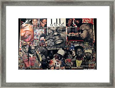 Lil Wayne The Last Hot Boy Framed Print by Isis Kenney