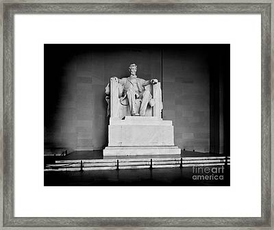 Lincoln Memorial Framed Print by Lane Erickson