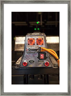 Lithium Ion Battery Pack For Electric Car Framed Print