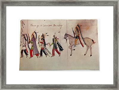 Little Bighorn, 1876 Framed Print