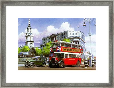 London Transport Stl Framed Print by Mike  Jeffries