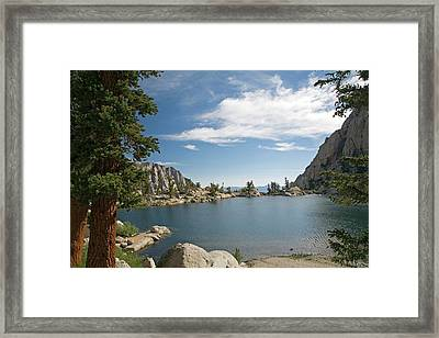 Lone Pine Lake Framed Print