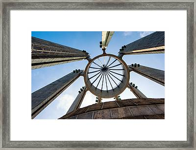 Looking Up Framed Print by Keith Homan