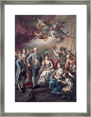 Lopez Y Porta�a, Vicente 1772-1850 Framed Print by Everett