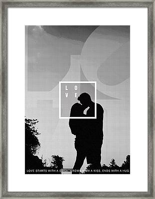 Love Framed Print by Celestial Images