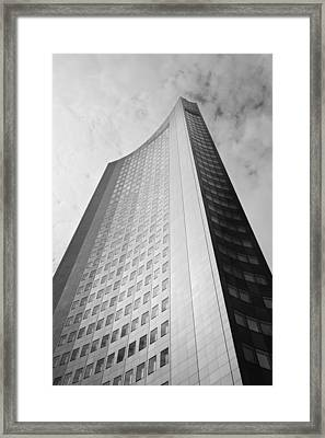 Low Angle View Of A Building Framed Print