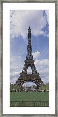 Low Angle View Of A Tower, Eiffel Framed Print by Panoramic Images