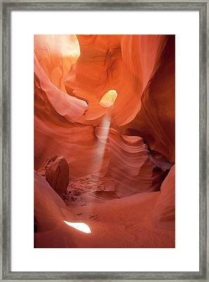 Lower Antelope Slot Canyon Framed Print