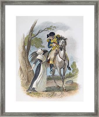 Lydia Darrah, 1777 Framed Print