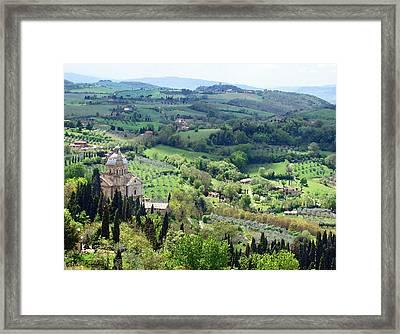 Madonna Di San Biagio Framed Print by Ellen Henneke